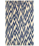 RugStudio presents LR Resources Dazzle Lr54016 Beige/Blue Area Rug