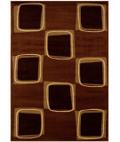 RugStudio presents LR Resources Adana Lr80916 Rose/Brown Machine Woven, Good Quality Area Rug
