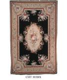 RugStudio presents Marcella Needlepoint Cht 303b Needlepoint Area Rug