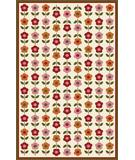 RugStudio presents Marcella Vera Bradley Indoor-Outdoor Flokloric VBO022A Hand-Hooked Area Rug