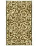 RugStudio presents Martha Stewart by Safavieh MSR1214L GARDEN ROW Hand-Hooked Area Rug