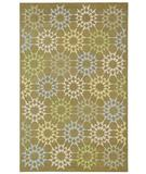 RugStudio presents Martha Stewart by Safavieh MSR1843F Pebble / grey Hand-Hooked Area Rug