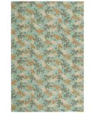 RugStudio presents Martha Stewart by Safavieh MSR2320A SKY BLUE Hand-Hooked Area Rug