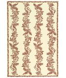 RugStudio presents Martha Stewart by Safavieh MSR2321B RED / DAHLIA Hand-Hooked Area Rug