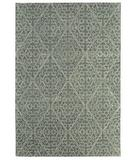 RugStudio presents Martha Stewart by Safavieh MSR3258E ROCK GARDEN / GREY Hand-Tufted, Best Quality Area Rug