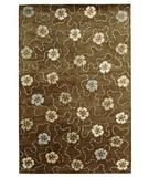 RugStudio presents Martha Stewart by Safavieh MSR3267C MOCHA Hand-Tufted, Best Quality Area Rug