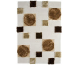 RugStudio presents MAT The Basics Anatolia White/Beige Hand-Tufted, Good Quality Area Rug