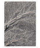 RugStudio presents Rugstudio Sample Sale 59232R Grey Machine Woven, Good Quality Area Rug