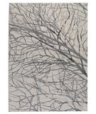 RugStudio presents Rugstudio Sample Sale 59233R White Machine Woven, Good Quality Area Rug