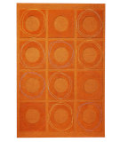 RugStudio presents MAT Orange Catena Circa Rust Hand-Tufted, Good Quality Area Rug