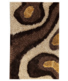 RugStudio presents MAT Orange Roca Dunes White/Brown Woven Area Rug
