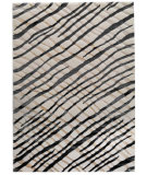 RugStudio presents MAT Orange Big Ben Fantasma White/Grey Machine Woven, Good Quality Area Rug