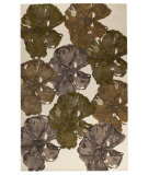 RugStudio presents MAT Orange Milano Fauna Fall Hand-Tufted, Good Quality Area Rug