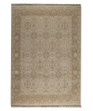 RugStudio presents Mat Orange Grandeur Cream Woven Area Rug