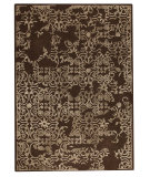 RugStudio presents Mat The Basics Illusion Brown Hand-Tufted, Good Quality Area Rug