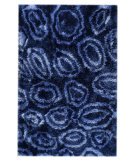 RugStudio presents MAT Orange Roca Island Blue Hand-Tufted, Good Quality Area Rug