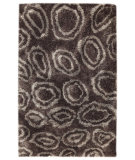 RugStudio presents MAT Orange Roca Island Grey Hand-Tufted, Good Quality Area Rug