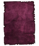 RugStudio presents Mat Vintage Jalwa 2 Purple Hand-Tufted, Good Quality Area Rug