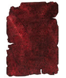 RugStudio presents Mat Vintage Jalwa 3 Dark Red Hand-Tufted, Good Quality Area Rug