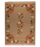 RugStudio presents Mat The Basics Karba1 Beige Woven Area Rug