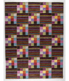 RugStudio presents Mat The Basics Khema 4 Brown/Multi Woven Area Rug