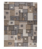 RugStudio presents Mat The Basics Khema 8 Grey Woven Area Rug