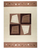 RugStudio presents MAT The Basics Kiruna Beige Hand-Tufted, Good Quality Area Rug