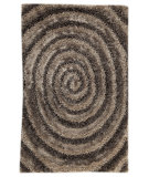 RugStudio presents MAT Orange Roca Landscape Grey Hand-Tufted, Good Quality Area Rug