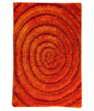 RugStudio presents MAT Orange Roca Landscape Orange Hand-Tufted, Good Quality Area Rug