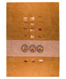 RugStudio presents MAT The Basics Leatherbox Brown Hand-Tufted, Good Quality Area Rug