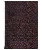 RugStudio presents MAT The Basics Madeira Black/Red Hand-Tufted, Good Quality Area Rug