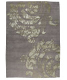 RugStudio presents MAT The Basics Almeria Silver Hand-Knotted, Good Quality Area Rug