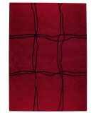 RugStudio presents Rugstudio Sample Sale 59206R Red Hand-Tufted, Good Quality Area Rug