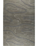 RugStudio presents MAT The Basics Agra Grey Hand-Tufted, Good Quality Area Rug