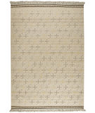 RugStudio presents MAT The Basics Bergen White Flat-Woven Area Rug