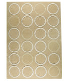 RugStudio presents MAT The Basics Bilbao Beige Hand-Tufted, Good Quality Area Rug