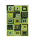 RugStudio presents MAT The Basics Berlin Green Hand-Tufted, Good Quality Area Rug