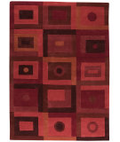 RugStudio presents MAT The Basics Berlin Red Hand-Tufted, Good Quality Area Rug