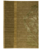 RugStudio presents MAT The Basics Cortina Green Hand-Knotted, Good Quality Area Rug