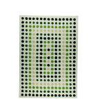 RugStudio presents MAT The Basics Dublin Green Hand-Tufted, Good Quality Area Rug