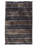 RugStudio presents MAT The Basics Delhi Black/Silver Area Rug