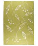 RugStudio presents MAT The Basics Flora Green Hand-Tufted, Good Quality Area Rug