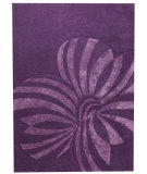 RugStudio presents Rugstudio Sample Sale 59320R Violet Hand-Tufted, Good Quality Area Rug