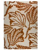 RugStudio presents MAT The Basics Leaf Rust Hand-Tufted, Good Quality Area Rug