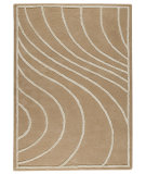 RugStudio presents MAT The Basics Lake Placid Cream Hand-Tufted, Good Quality Area Rug