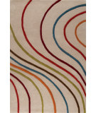 RugStudio presents MAT The Basics Lake Placid Multi Hand-Tufted, Good Quality Area Rug