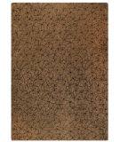 RugStudio presents MAT The Basics Madeira Brown/Black Hand-Tufted, Good Quality Area Rug