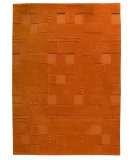 RugStudio presents MAT The Basics Miami Orange Hand-Tufted, Good Quality Area Rug