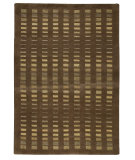 RugStudio presents MAT The Basics Merano Brown Hand-Knotted, Good Quality Area Rug