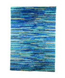 RugStudio presents MAT The Basics Mat Mix Blue Area Rug